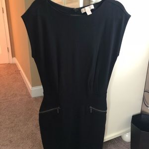 New Michael Kors Black Sleeveless Dress, Size 8